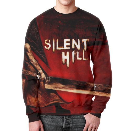 Collectibles Sweatshirt Silent Hill Apparel Movie Cover