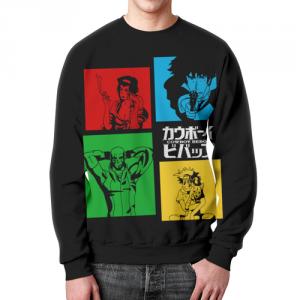 Collectibles Bebop Crew Sweatshirt Cowboy Bebop