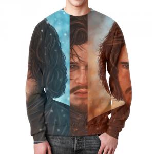 Merch Sweatshirt Merch Game Of Thrones Jon Snow Design