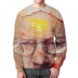 Collectibles - Sweatshirt Heisenberg Breaking Bad Face Design
