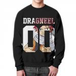 Merch Sweatshirt Natsu Fairy Tail Dragneel Black