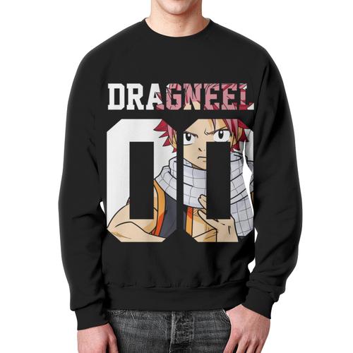 Merchandise Sweatshirt Natsu Fairy Tail Dragneel Black