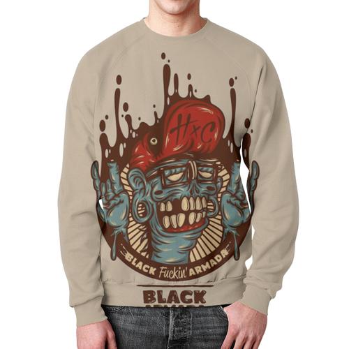 Merchandise Sweatshirt Swag Art Black Fuckin' Armada