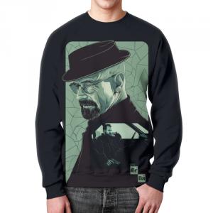 Collectibles - Sweatshirt Breaking Bad Portrait Print