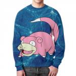 Merch - Pink Sweatshirt Slowpoke Pokemon