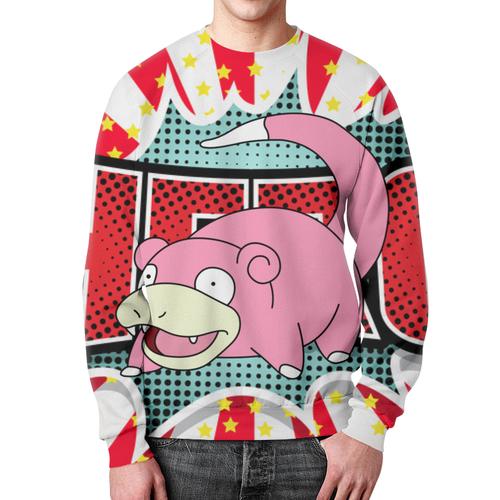 Merchandise Sweatshirt Slowpoke Pokemon Merchandise Print