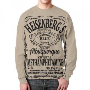 Collectibles - Sweatshirt Breaking Bad Text Heisenberg'S Print