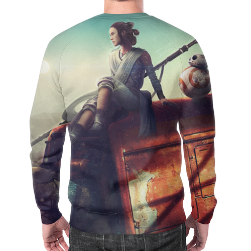 Merch Sweatshirt Ray Bb-8 Star Wars Print Merch