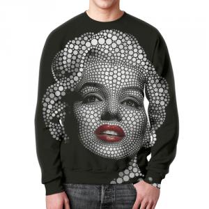Merchandise Sweatshirt Marilyn Monroe Blonde Bombshell