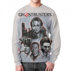 Merchandise Sweatshirt Ghostbusters Characters Portreits Print