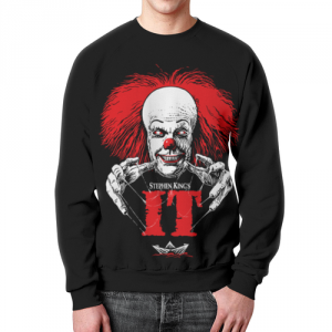 Merch Sweatshirt Tim Curry It Movie Pennywise