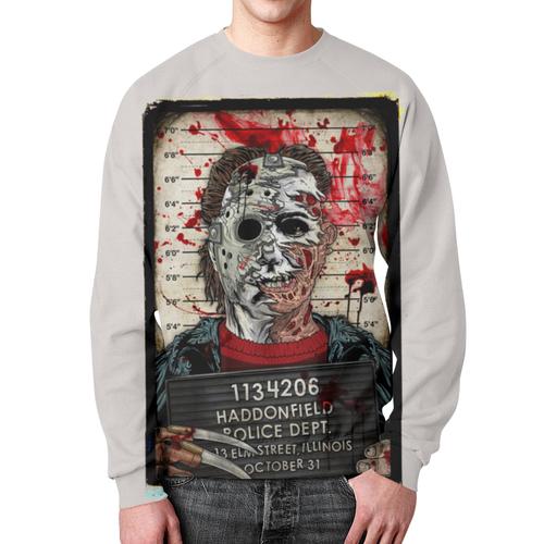 Merch Sweatshirt Art Jason Voorhees Horror