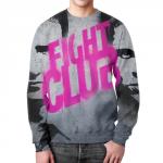 Merch Fight Club Main Movie Title Sweatshirt