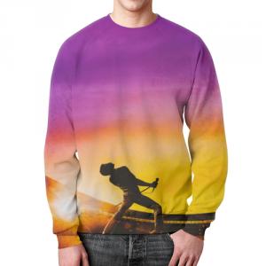 Merchandise Bohemian Rhapsody Sweatshirt Queen Print