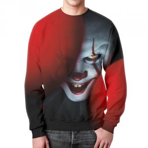 Merch Sweatshirt Design It Face Image