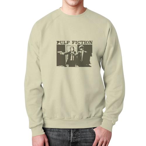 Collectibles Sweatshirt Pulp Fiction Gray Print Design