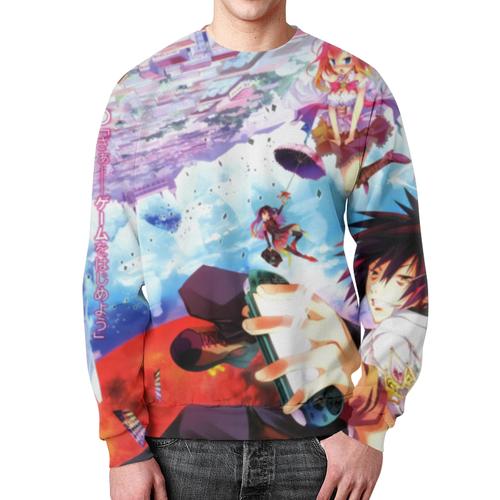 Merchandise Sora Sweatshirt No Game No Life Jibril
