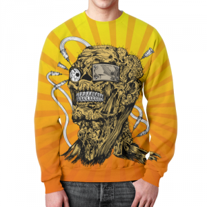 Collectibles - Sweatshirt Pop Art Human Print Apparel Design