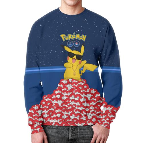 Merch Sweatshirt Pokemon Merch Go Design Print