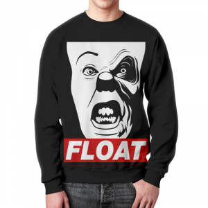 Merch Sweatshirt It Float Movie Pennywise