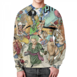 Collectibles Sweatshirt One Piece Design Footage Print