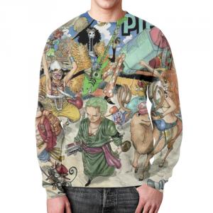 Collectibles - Sweatshirt One Piece Design Footage Print