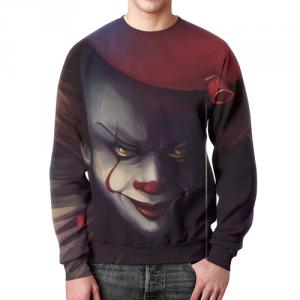 Merch Sweatshirt Stephen King It Print Design