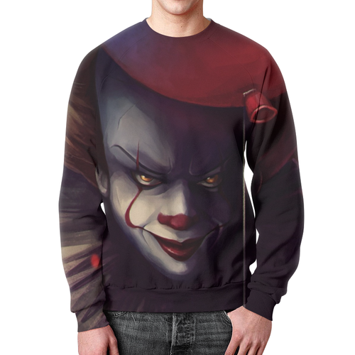 Merchandise Sweatshirt Stephen King It Print Design