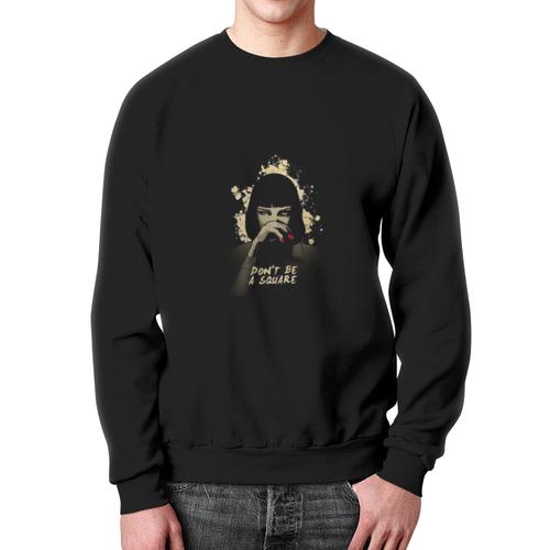 Collectibles Sweatshirt Pulp Fiction Uma Thurman Face Black