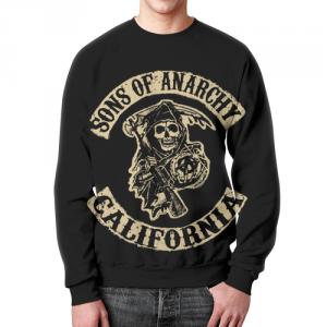 Merch Sweatshirt Sons Of Anarchy California Black