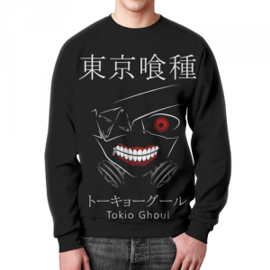 Collectibles Sweatshirt Tokyo Ghoul Black Print Graphic