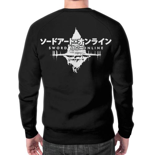 Merchandise Sword Art Online Sweatshirt Black Design