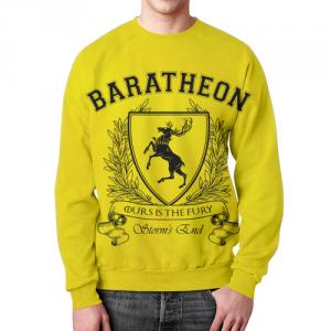 Merch Sweatshirt Game Of Thrones House Of Baratheons Yellow
