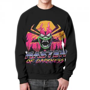 Collectibles Sweatshirt Master Of Darkness Retro Wave