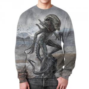 Collectibles Xenomorph Sweatshirt Alien Art Apparel