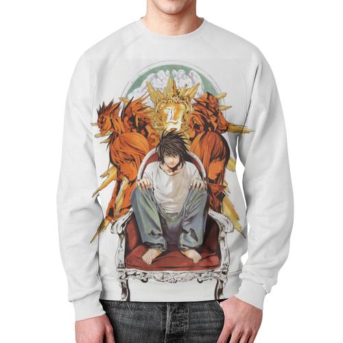 Collectibles Sweatshirt Death Note Merch White Print