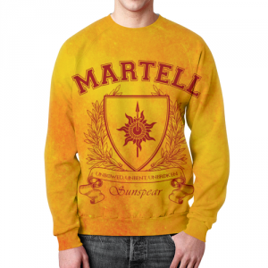 Merch Sweatshirt Game Of Thrones House Of Marte Design