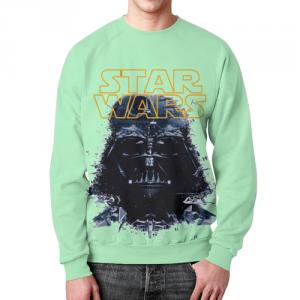 Merch Darth Vader Sweatshirt Star Wars Green Sweater