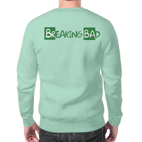 Merch Sweatshirt Breaking Bad Blue Print Characters
