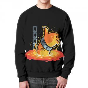 Collectibles Sweatshirt Bowser Terminator Black Print