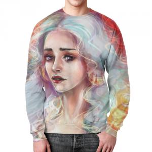 Merch Sweatshirt Print Emilia Clarke Game Of Thrones