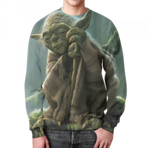 Merch Yoda Sweatshirt Grand Master Star Wars