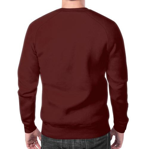 Merchandise Sweatshirt Breaking Bad Brown Heisenberg'S Print