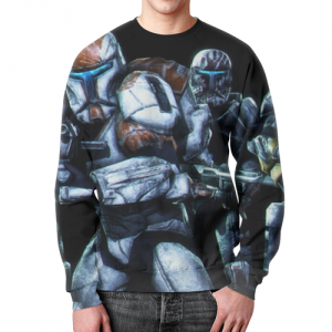 Merch Clones Sweatshirt Star Wars Soldiers