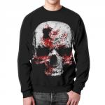 Collectibles Sweatshirt Skull Black Graphic Image