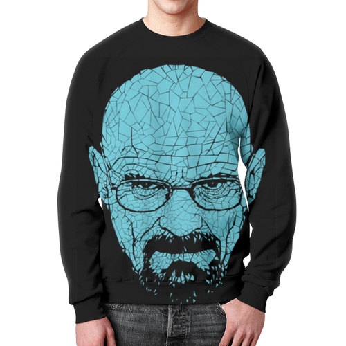 Collectibles Sweatshirt Breaking Bad Black Face Hero