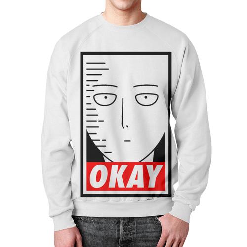 Merch Sweatshirt One Punch Man Okay Replic