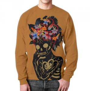 Merchandise Sweatshirt Forest Creature Floral Art Character