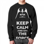 Collectibles Sweatshirt Star Wars Keep Calm And Use The Force