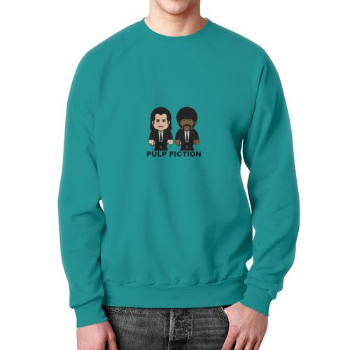 Collectibles Sweatshirt Pulp Fiction Vincent Jules Print